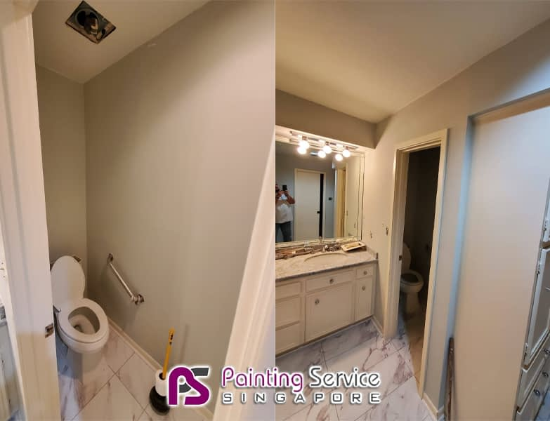 Painting Service In Icon Residence