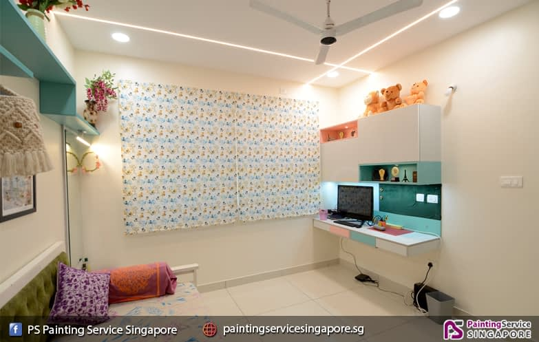 Painting Service In Guilin View   📍PS Painting Service Singapore – Condo , HDB , House & Room