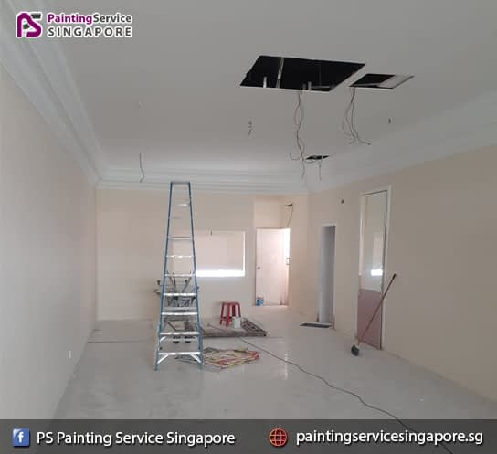 Painting Service In Clementi Avenue  📍PS Painting Service Singapore – Condo , HDB , House & Room